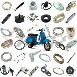 Front & Rear Damper - Security Lock Spare Parts For Vespa PX LML Star NV Scooter