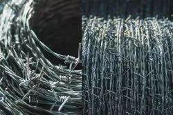 Galvanized Mild Steel Barbed Fencing Wire