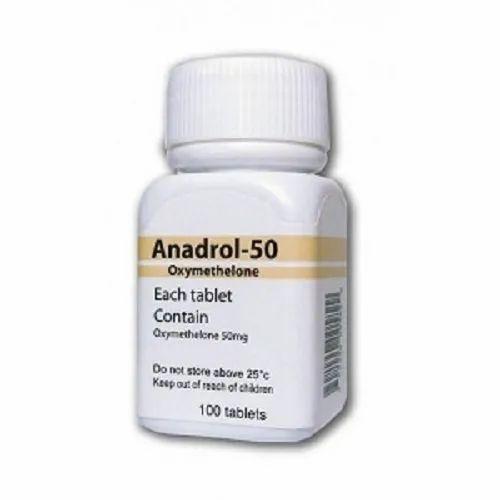 Anadrol 50mg Tablet, Packaging Size: 10 Tab Per Strip, Rs 100 /bottle | ID:  23503602373