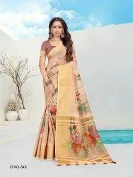 Saree Fancy Cotton Digital