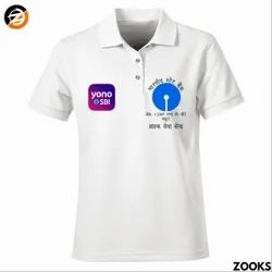 Polyester White Promotional T Shirts, Quantity Per Pack: 1