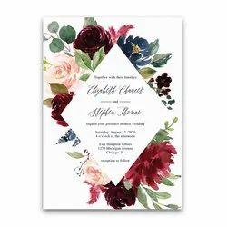 Digital Wedding Invitation Cards Printing Services