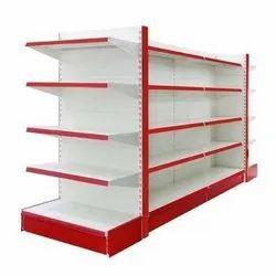 Mild Steel Departmental Store Rack