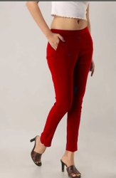 Cotton Straight Pant, Waist Size: L TO XXL