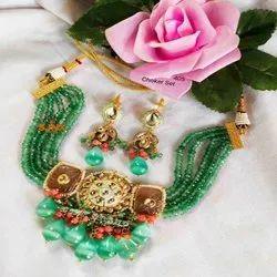 Traditional Classic Kundan Set For Women And Girl Bijox