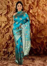 Ladyfab (www.ladyfab.in) 6.3 m (with blouse piece) Designer Banarasi Saree