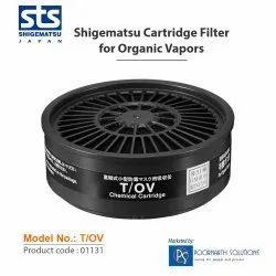 Shigematsu T/OV (Organic Vapors) Cartridge/Filter