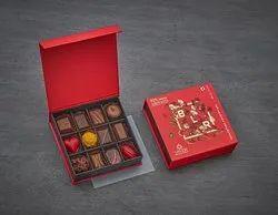 Smoor Luxury Couverture Chocolates - Box Of 12