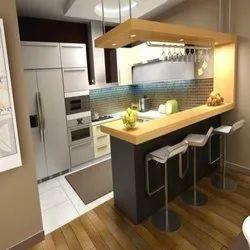 Italian G Shaped Modular Kitchen Service