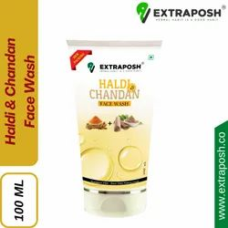 EXTRAPOSH Herbal Haldi & Chandan Face Wash, Age Group: Adults, Packaging Size: 100 Ml