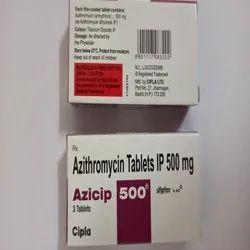 Azicip 500 mg Azithromycin Tablets