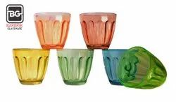 Mixed Color Set Fine Quality Barbrik Liner Glass, For Home, Capacity: 7 Ounce Capacity