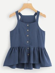 Blue Baby Girl Tops
