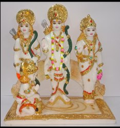 Polyresin Ram Darbar Statue