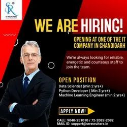 Recruitment Service for IT Company, Pan India