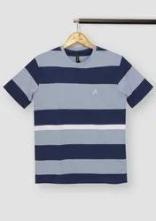 Round Cotton Mens Full Sleeves T-Shirt, Size: Large