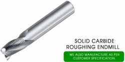 Dasqua 16mm Solid Carbide Roughing End Mill, Length Of Cut: 50, 100mm