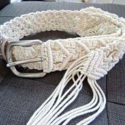 Latest Designer Macrame Belt