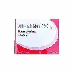EZECURE 500mg Azithromycin 500 mg Tablets
