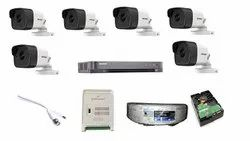 Hikvision Full HD 5MP Cameras Combo KIT 8CH HD DVR +2TB Hard DISC+ & All Required Connectors