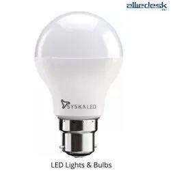 Polycarbonate Round Syska LED Bulb