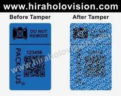 Packplus smartphone camera security label