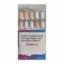 Metformin Hydrochloride Prolonged Release & Glimepiride Tablets