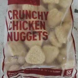 Brown Frozen Crunchy Chicken Nuggets