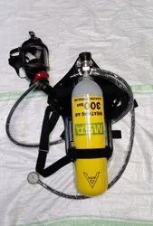 Steel MSA BD Compact ( Self Contained Breathing Apparatus), For Firefighting, Max Working Pressure: 300 Bar