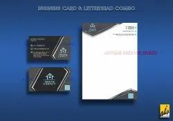 Quick As Possible Visiting Card Design