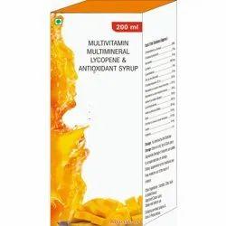 Multivitamin, Multimineral, Lycopene & Antioxidant Syrup