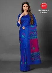 Printed Khadi Silk Saree