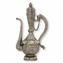 Brass Silver Plated Surai For Decoration & Corporate Gift