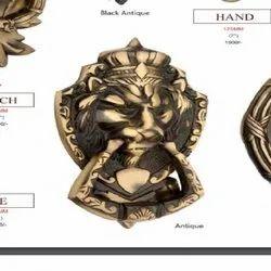 8 inch Prince Brass Door Knocker