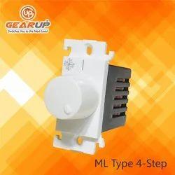 Gear-Up 4 Step 'ML' Type Non Modular Fan Regulator