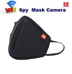 Krish Black Wifi Mask Spy Camera, For Security, Memory Size: 32 GB