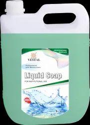 For Hand Wash Vestal Liquid Soap, Packaging Size: 5Litre