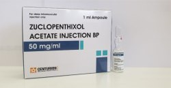 Zuclopenthixole Acetate Injection BP 50mg / ml