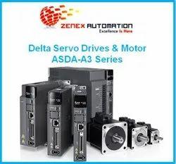 0.557 N-m ~ 8.36 N-m Delta Servo System, 220-440v, 3 - Phase