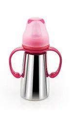 Trishla Stainless Steel Sipper Bottle/ Stainless Steel Feeding Bottle, Capacity: 250 Ml, 3-12 Months