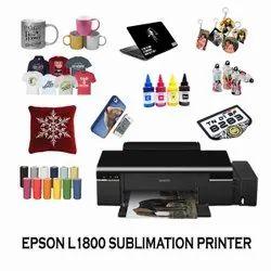 Colored Epson Ecotank L1800 A3 Photo Printer