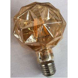 Warm White LED Decorative Bulb, For Indoor