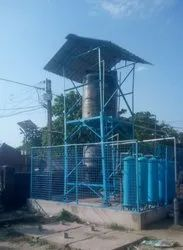 Channel Guirder Structure For Water Tank