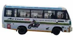Outdoor RTV Bus Advertising Services, in Delhi