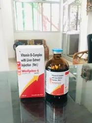 Vitamin B-Complex with Liver Extract Injection (Vet)