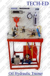 Oil Hydraulic Trainer, For Educational