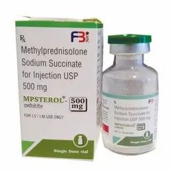 MPSTEROL Methylprednisolone Sodium Succinate Injection 500 mg
