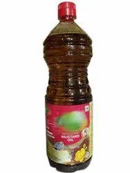 Happy Top Kachi Ghani Mustard Oil, Packaging Type: Plastic Bottle, Packaging Size: 1 Litre