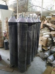 Empty Oxygen Cylinders