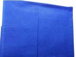 Blue Cotton Blouse Astar Fabric, Plain